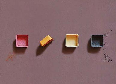 Delicatessen - Coupelles carrées comestibles, compostables et biodégradables version POP - SWITCH EAT