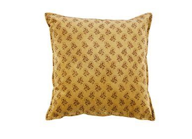 Fabric cushions - Rose velvet cushion 45x45 cm AX71001 - ANDREA HOUSE