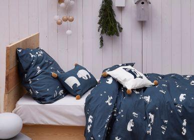 Bed linens - Duvet Cover Ice - SYLVIE THIRIEZ
