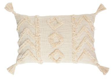 Fabric cushions - Nayla cotton cushion 35x55 cm AX71177 - ANDREA HOUSE