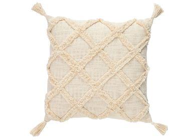 Fabric cushions - Mazunte cotton cushion 45x45 cm AX71178 - ANDREA HOUSE