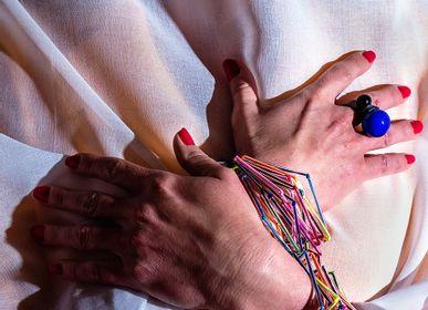 Jewelry - CUFF bracelet - ANNCOX GLASS JEWELRY