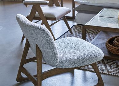 Armchairs - LINA armchairs - BLANC D'IVOIRE