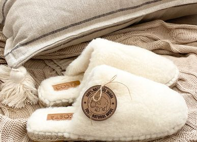 Shoes - Soft winter with pure wool slippers  - &ATELIER COSTÀ