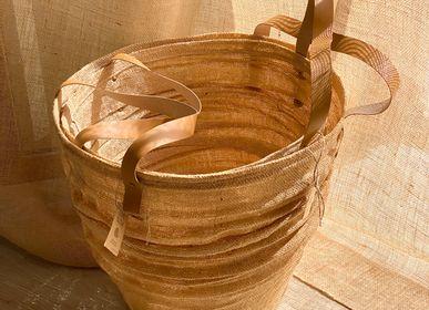 Paniers à linge - Panier à linge en maille de jute - &ATELIER COSTÀ
