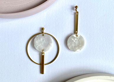 Jewelry - Asymmetrical earrings - NAO JEWELS