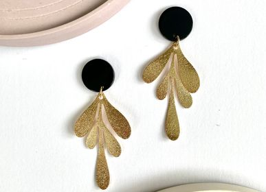 Jewelry - Brass and acetate earrings  - NAO JEWELS