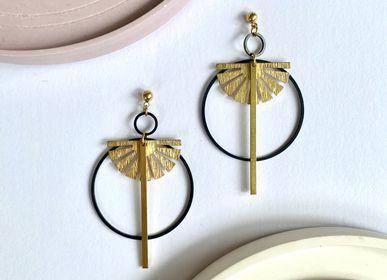 Jewelry - Brass earrings - NAO JEWELS