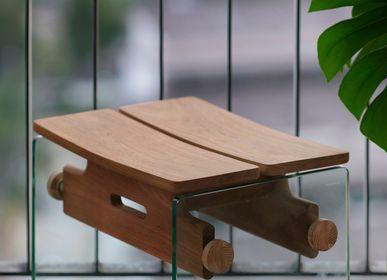 Transats - G Wood Stool  - TAKEHOMEDESIGN