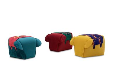 Objets design - CHANG stool from Thailand - MOBELLA