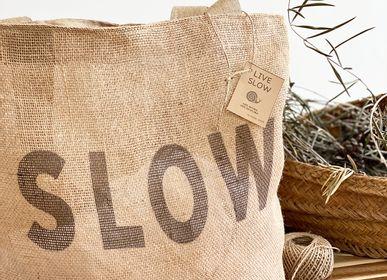 Shopping baskets - The ECO Jute Mesh Shopping Bag - &ATELIER COSTÀ