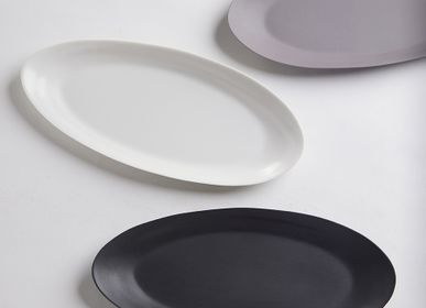 Assiettes au quotidien - Ripple Fish Plate - 3,CO