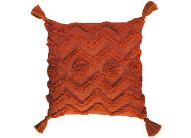 Fabric cushions - PAZ COTTON CUSHION 45X45 CM AX71181 - ANDREA HOUSE