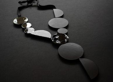 Bijoux - Bijoux de cuir - Collier BAUHAUS - SOPHIE • TERRIERE