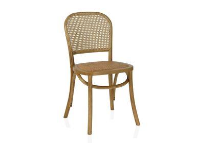 Chaises - Chaise Laurence en bois d'orme 45x42x86 cm MU69116 - ANDREA HOUSE