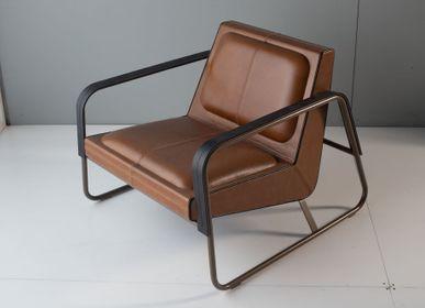 Chaises longues - Fauteuil Lounge ELLE - métal - DOIMO BRASIL