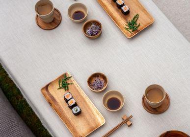 Bowls - Wooden  Japanese bowls & rectangular trays - KINTA