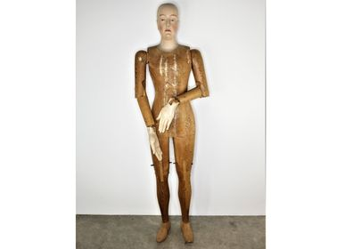 Decorative objects - Model maker's mannequin carved fir late XIXth S. - JD PRODUCTION - JD CO MARINE