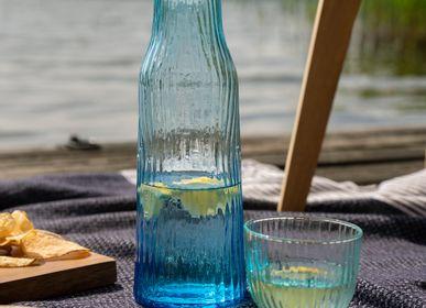 Verres - Verre Amnis (menthe, bleu, verre transparent) - KINTA