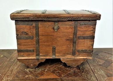 Decorative objects - Teak trunk. - JD PRODUCTION - JD CO MARINE