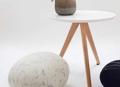 Cushions - Felted wool floor cushion, Pierre collection - KAYU