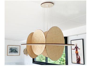 Decorative objects - Selene pendant lamp - ATELIER ANNE-PIERRE MALVAL
