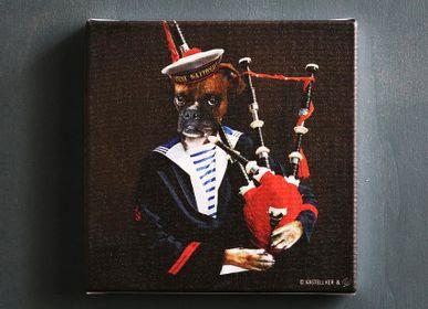 Paintings - LOEN TRADITION PAINTINGS - KASTELL KER