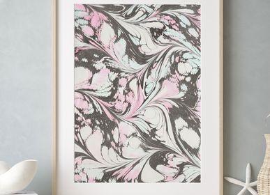 Paintings - Art print Ebru - Io - L'ATELIER DES CREATEURS