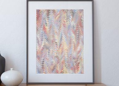 Paintings - Art print Ebru - Psyche - L'ATELIER DES CREATEURS