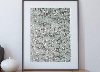 Paintings - Art print Ebru - La Coubre - L'ATELIER DES CREATEURS