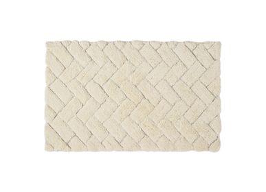 Autres linges de bain - Tapis de bain Bricks ivoire 50x80 cm BA71023 - ANDREA HOUSE