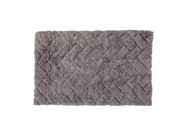 Autres linges de bain - Tapis de bain Bricks gris 50x80 cm BA71025 - ANDREA HOUSE