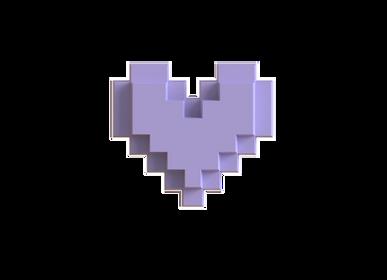 Objets de décoration - Coeur Lilas - LOVEBOX