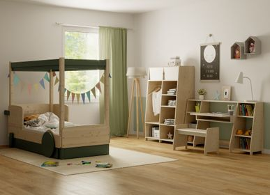 Beds - CANOPY BED & DRAWER DISCOVERY 1 - MATHY BY BOLS