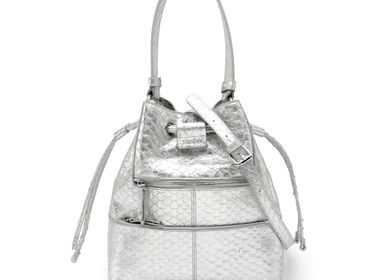 Bags and totes - Leather bucket bag SEAU VELYA - .KATE LEE