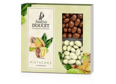 Chocolate - Pistachios with 2 chocolates - FRANCOIS DOUCET CONFISEUR