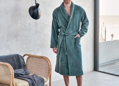 Bathrobes - Bathrobe - Prestige in vintage green - VANDYCK