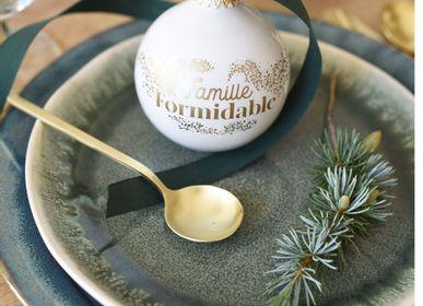 Guirlandes et boules de Noël - Boules de Noël Famille - BAUBELS
