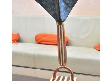 Sculptures, statuettes et miniatures - sculpture Bon homme 06 - SZENDY STEPHANE