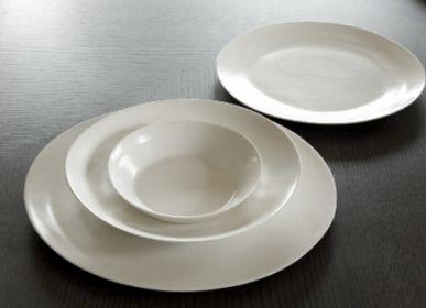 Assiettes au quotidien - Ripple Dessert Plate & Pasta Plate - 3,CO