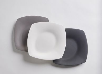 Everyday plates - La Mer Square Plate (Small & Large) - 3,CO