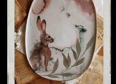 Platter and bowls - Fauna by AnaBanana | Platter - NOSSE CERAMIC STUDIO