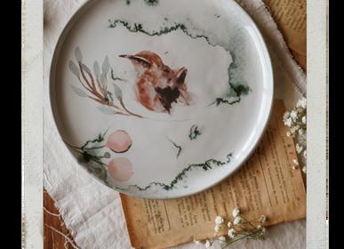 Formal plates - Fauna by AnaBanana | Plates - NOSSE CERAMIC STUDIO