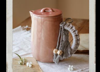 Tea and coffee accessories - Macramé by AnaBanana - NOSSE CERAMIC STUDIO