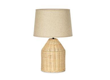 Lampes de bureau - Lampe en rotin Ø30x47 cm IL71047  - ANDREA HOUSE