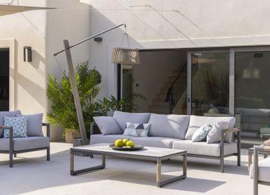 Lawn sofas   - OUTDOOR SOFA BASTINGAGE - LES JARDINS