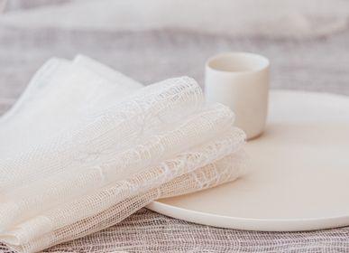 Table linen - 100% HAND WOVEN TABLE LINENS - STUDIO NATURAL
