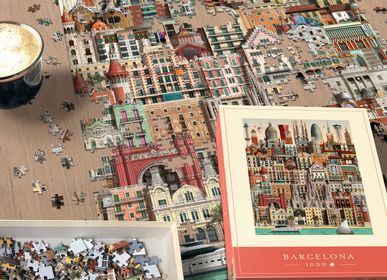 Gifts - Barcelona jigsaw puzzle (1000 pieces) - MARTIN SCHWARTZ