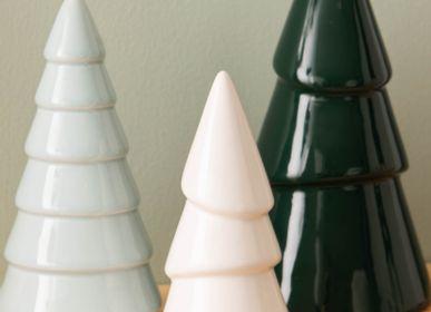 Christmas table settings - Ceramic Fir Trees  - AMADEUS