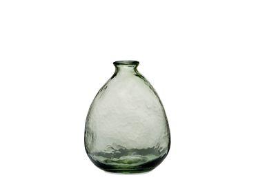 Vases - ORGANIC GREEN GLASS VASE Ø15,5X20 CR71103 - ANDREA HOUSE